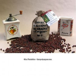 Kampot Red Pepper 80g jute bag