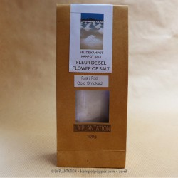 Smoked Kampot Flower of Salt - 100g recycle paper