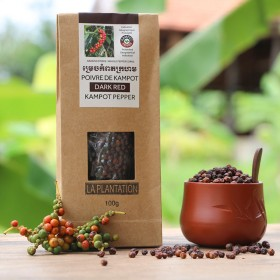 Dark Red Kampot Pepper PGI