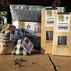 Black Kampot Pepper PGI