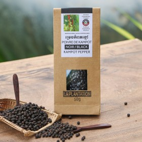 Black Kampot Pepper PGI (50g)