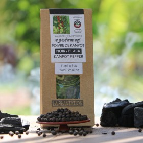 Smoked Black Kampot Pepper PGI