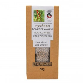 Smoked White Kampot Pepper PGI