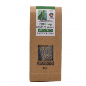 Dehydrated Green Kampot Pepper