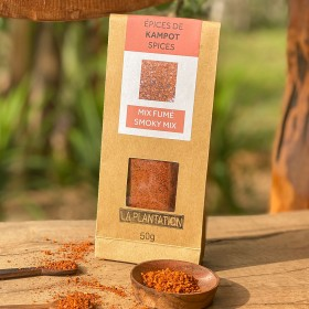Smoky Mix - Flower of Salt with Smoked Sweet Long Chili
