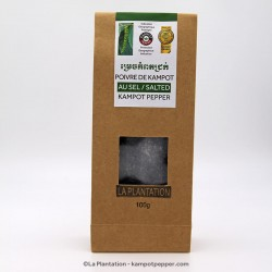 Salted Kampot Pepper - 100g recycle pack