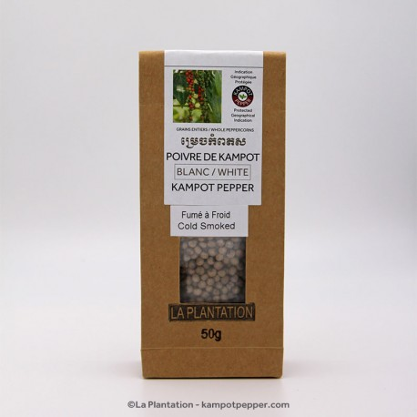 Kampot White Kampot Pepper 50g recycle paper