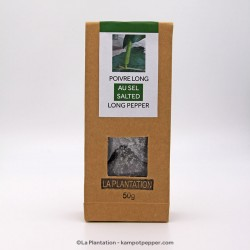 Fresh Salted Long Pepper - 100g recycle paper
