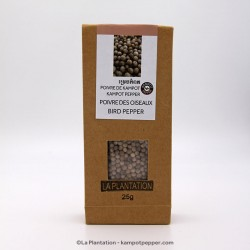 White Kampot Pepper 50g recycle paper